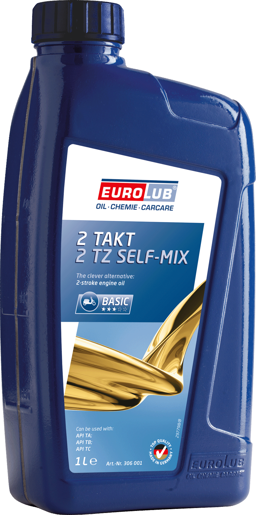 EUROLUB 2 TZ mineralisch SELF MIX, 1л