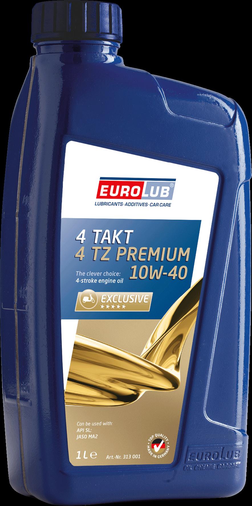 EUROLUB 4-Takt Motoröl 4TZ PREMIUM SAE 10W/40, 1л