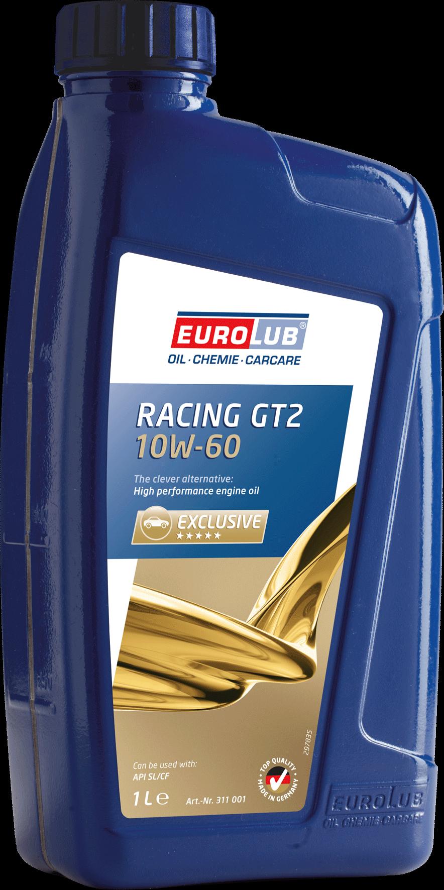 EUROLUB RACING GT2 SAE 10W/60 (масло для гоночных автомобилей), 1л