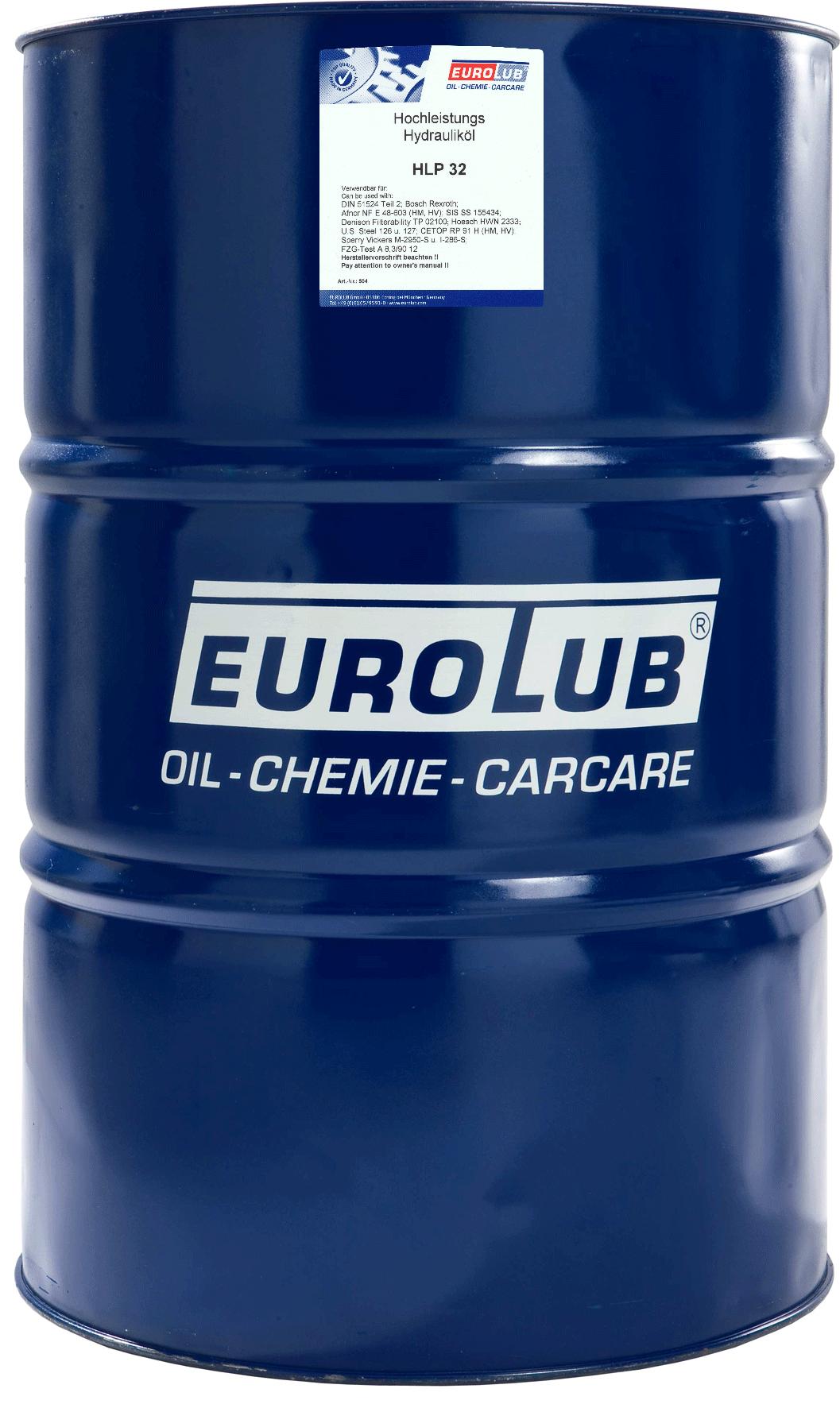 EUROLUB HLP ISO-VG 32, 208л