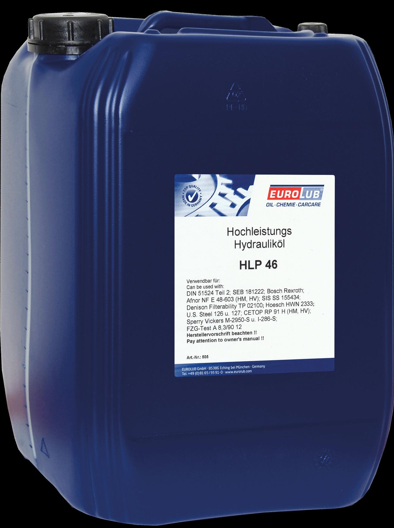 EUROLUB HLP ISO-VG 46, 20л