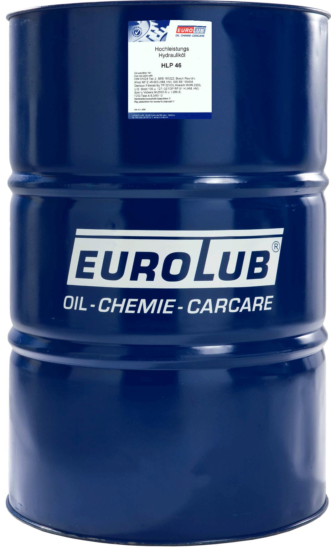 EUROLUB HLP ISO-VG 46, 208л