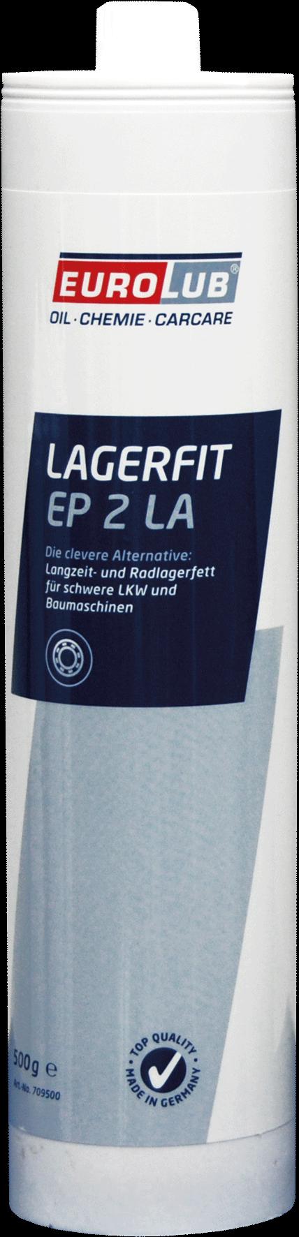 EUROLUB LAGERFIT EP 2 LA (литиевая смазка), 0.5л