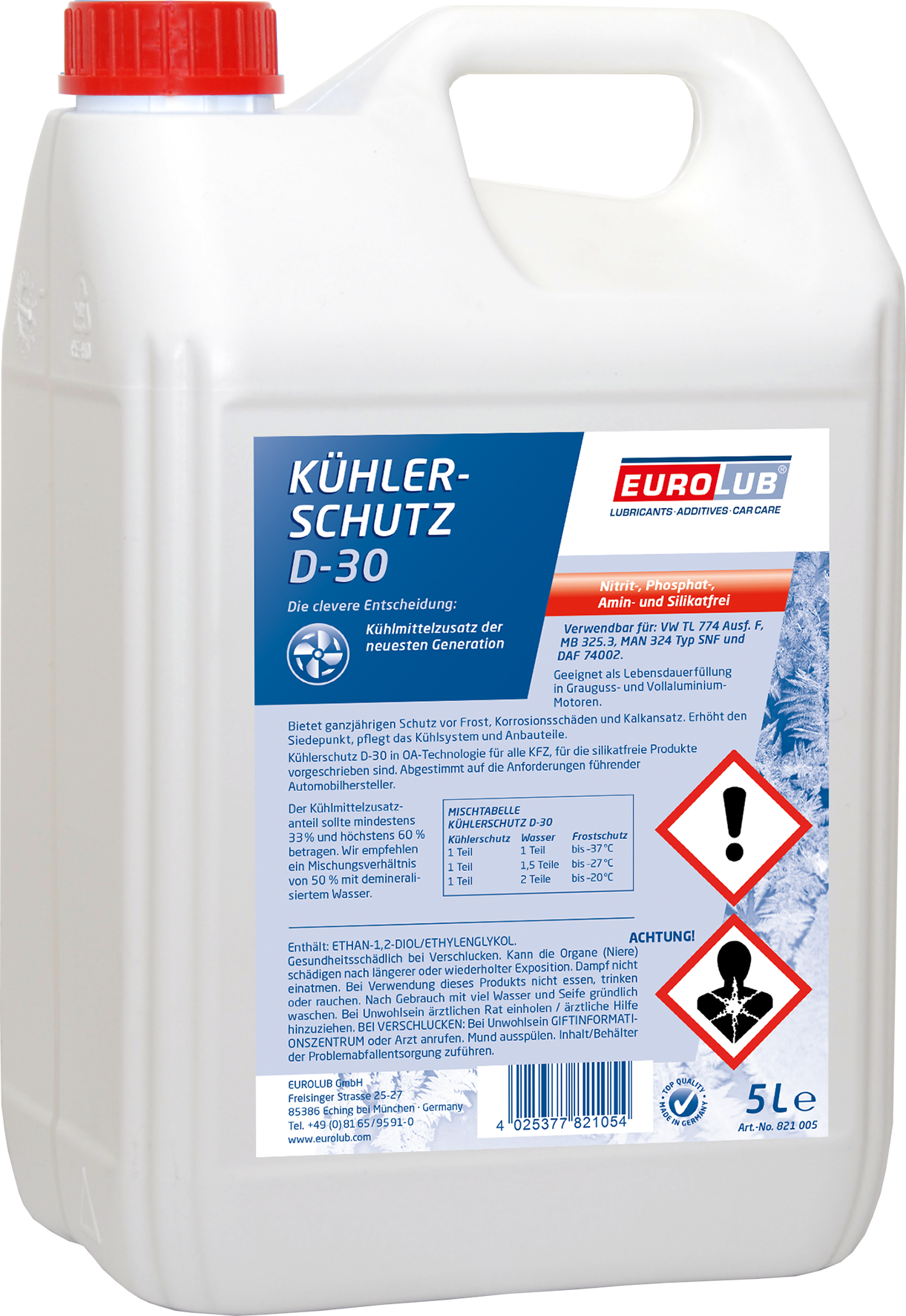 EUROLUB Kuhlerschutz  D-30, 5л