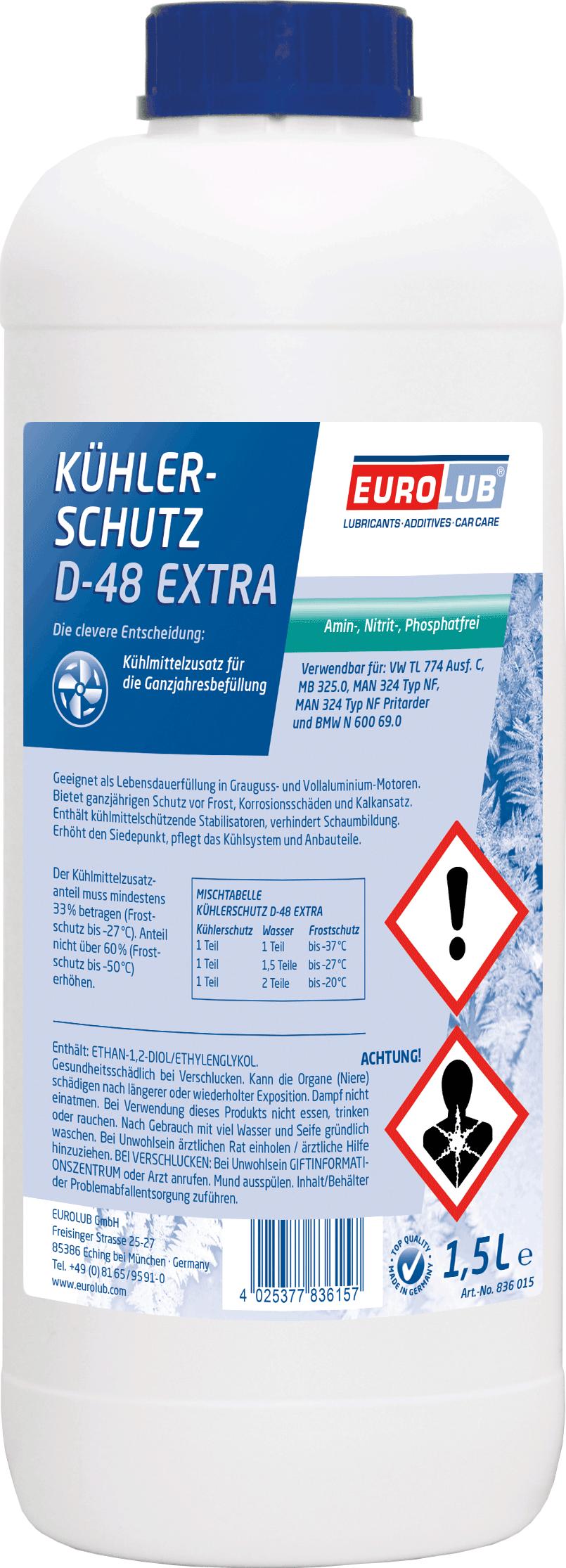 EUROLUB PROCAR Kuhlerschutz D48 Extra, 1.5л