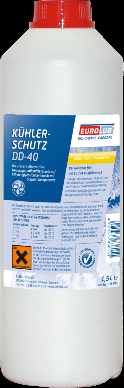 EUROLUB Kuhlerschutz  DD-40, 1.5л