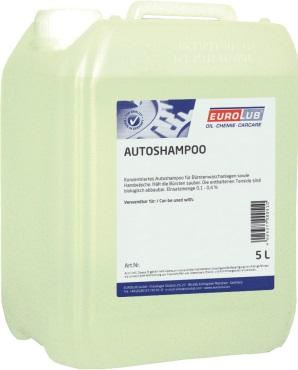 EUROLUB Autoshampoo (концентрований шампунь 1:250), 5л