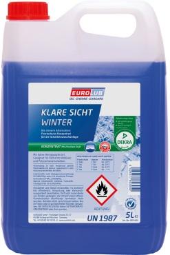 EUROLUB KLARE SICHT WINTER(Концентрат зимового омивача -80 °С)