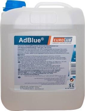 EUROLUB AdBlue® (Присадка для дизельных катализаторов), 5л