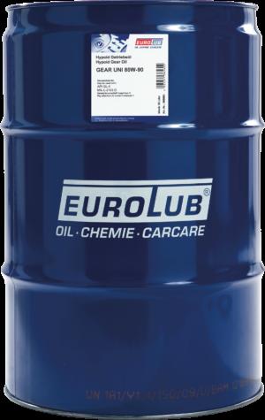 Трансмиссионное масло EUROLUB Gear Uni SAE 80W/90 (минеральное)