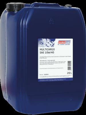 Моторное масло EUROLUB MULTICARGO SAE 10W/40 (полусинтетическое)