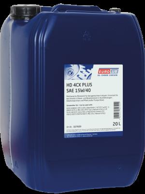Моторное масло EUROLUB HD 4CX PLUS SAE 15W/40 (минеральное)