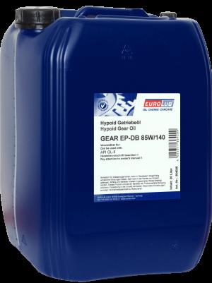 Трансмиссионное масло EUROLUB Gear EP-DB SAE 85W/140