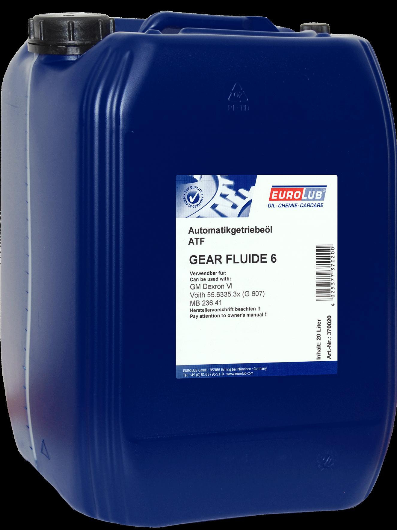 EUROLUB Gear Fluide 6, 20л