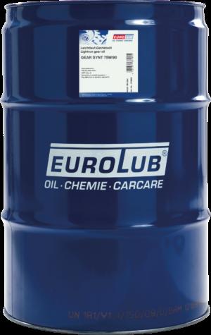 Трансмиссионное масло EUROLUB Gear Synt SAE 75W/90 (синтетическое)