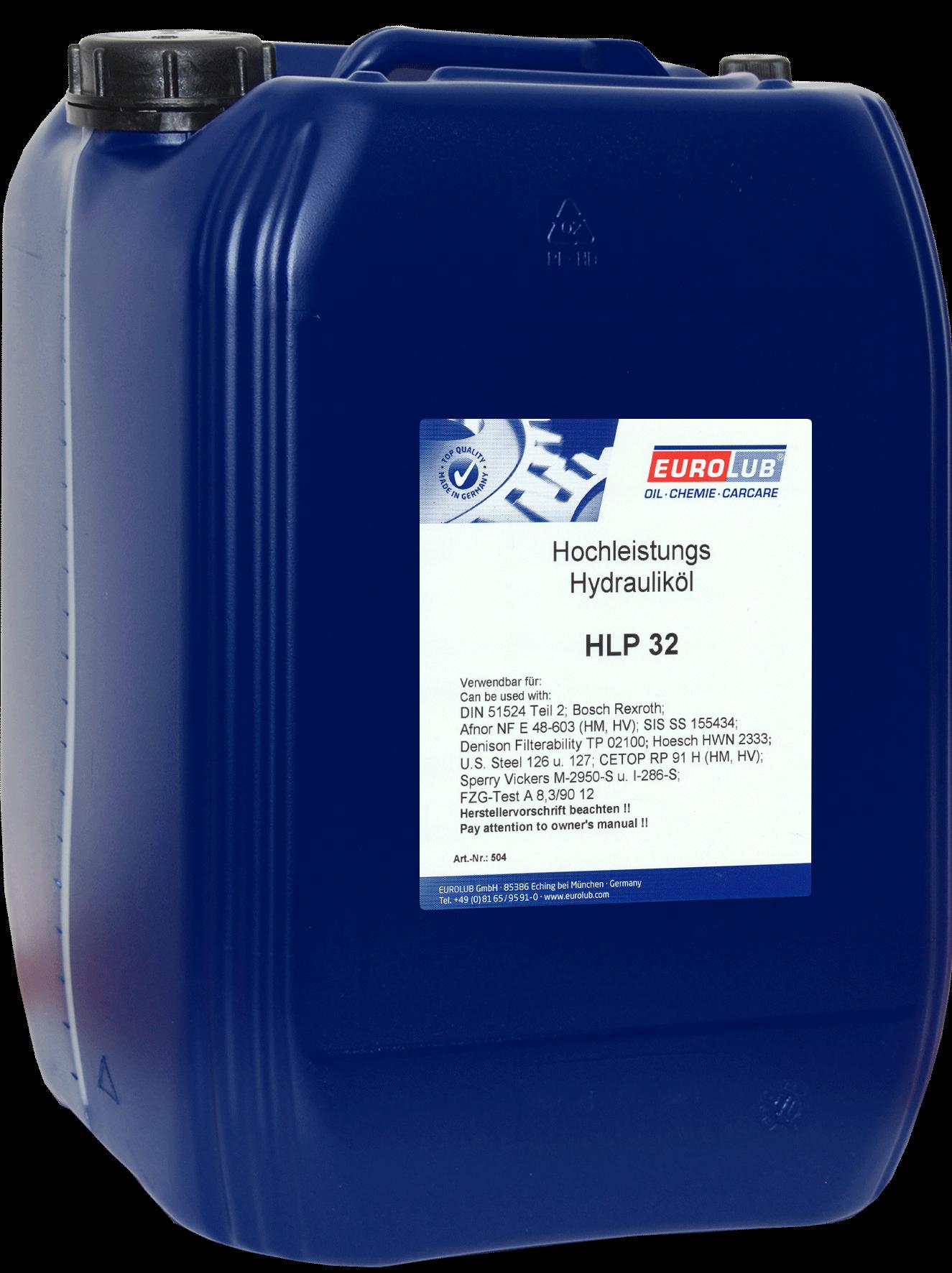 EUROLUB HLP ISO-VG 32, 20л