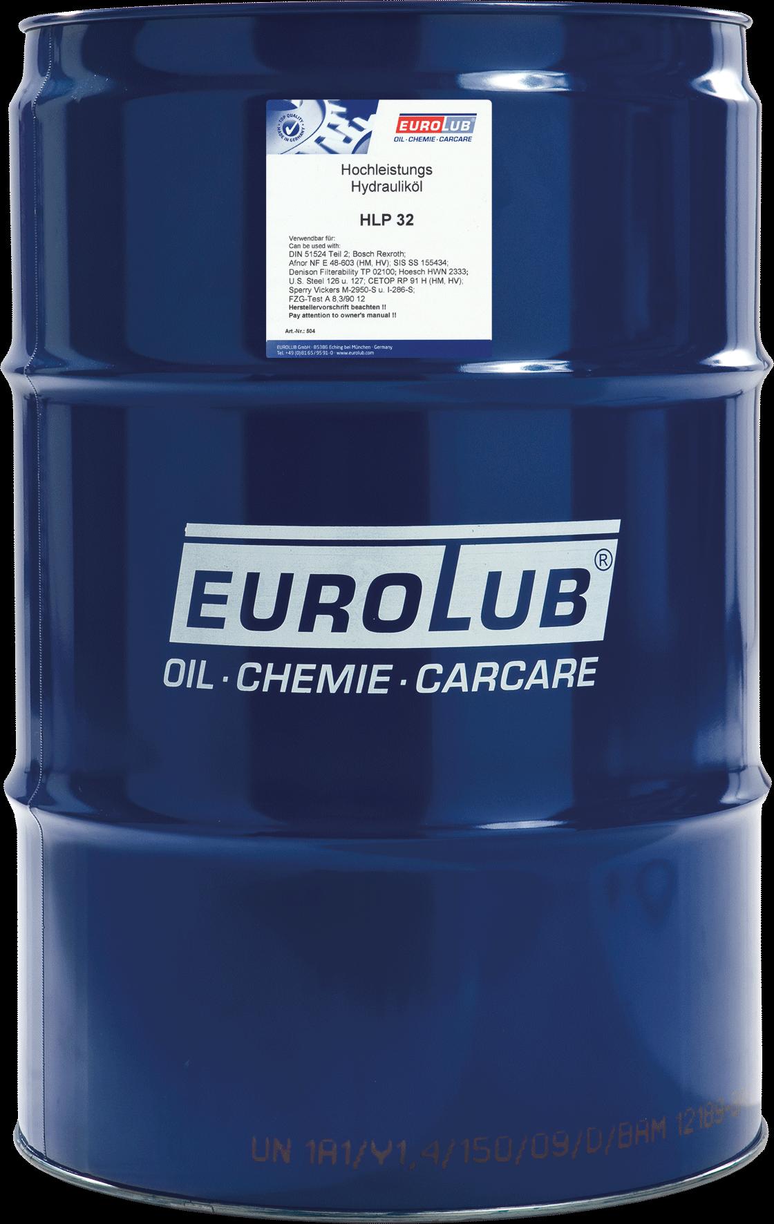 EUROLUB HLP ISO-VG 32, 60л