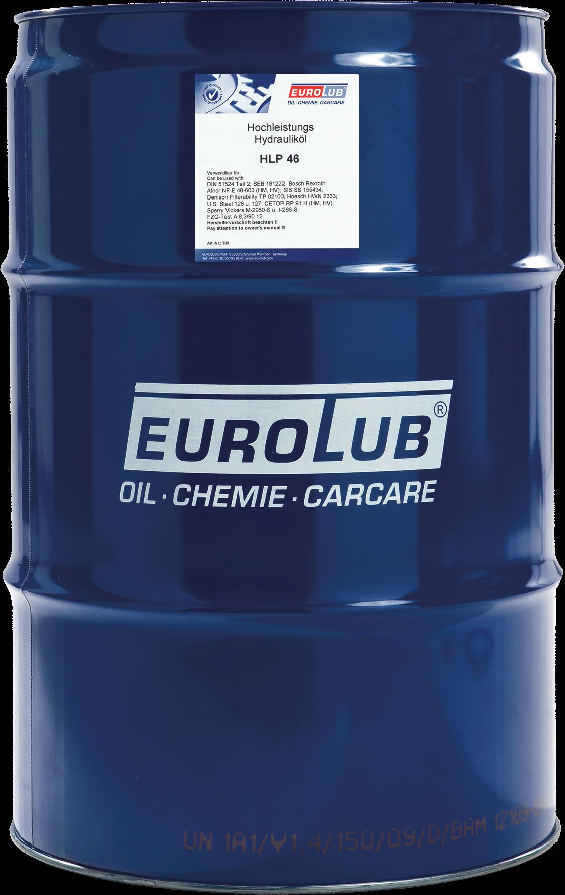 EUROLUB HLP ISO-VG 46, 60л