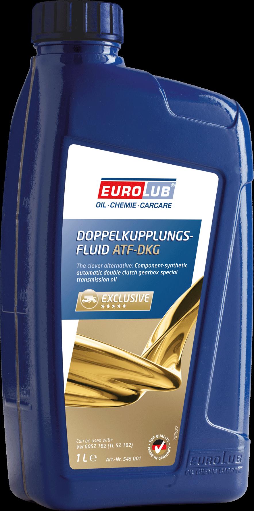 Трансмиссионное масло EUROLUB DOPPELKUPPLUNGS – FLUID (DKG) (для систем с двойным сцеплением), 1л