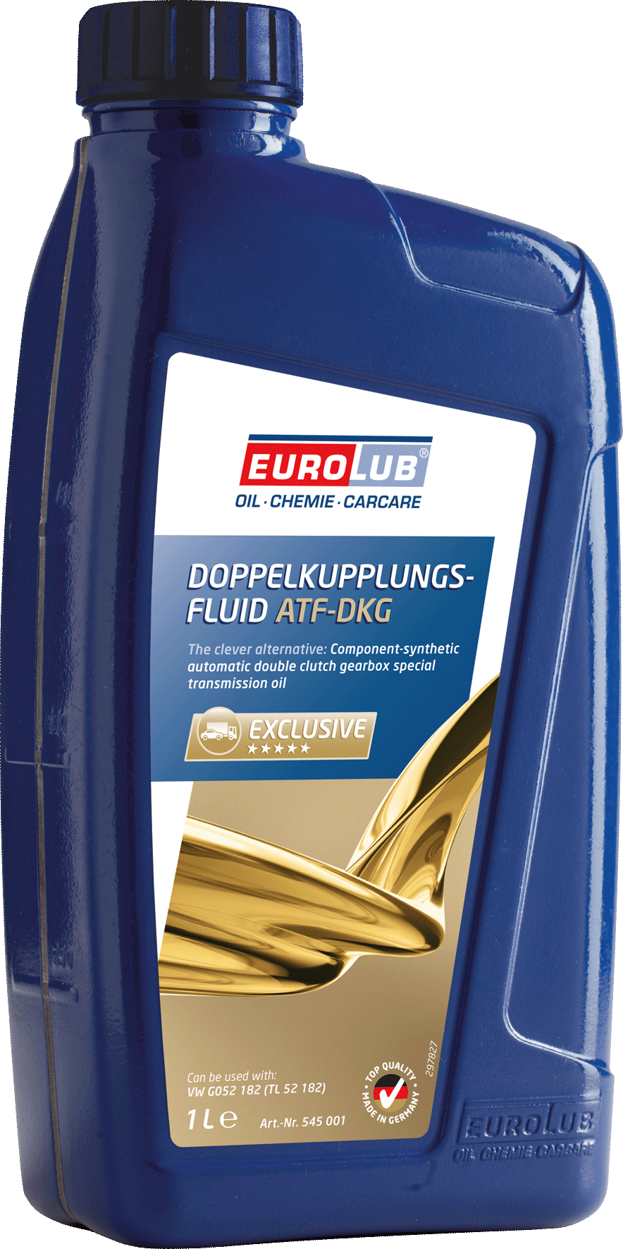 EUROLUB DOPPELKUPPLUNGS – FLUID (DKG) (для систем с двойным сцеплением), 1л