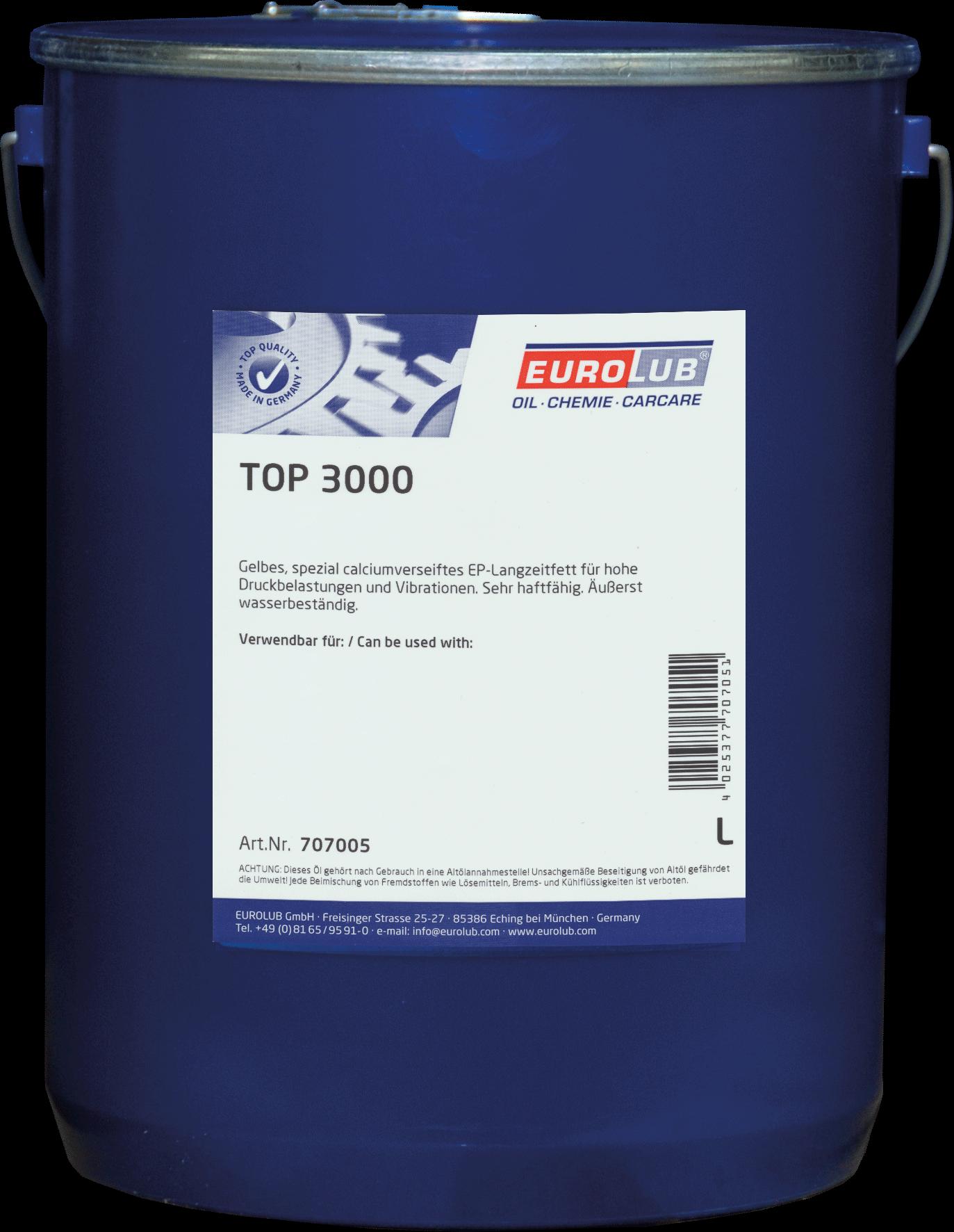 EUROLUB Top 3000 (кальциевая смазка), 5л