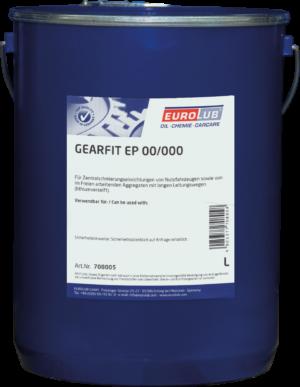 Смазка для авто Eurolub Gearfit EP00/000 (смазка для централизованных систем)