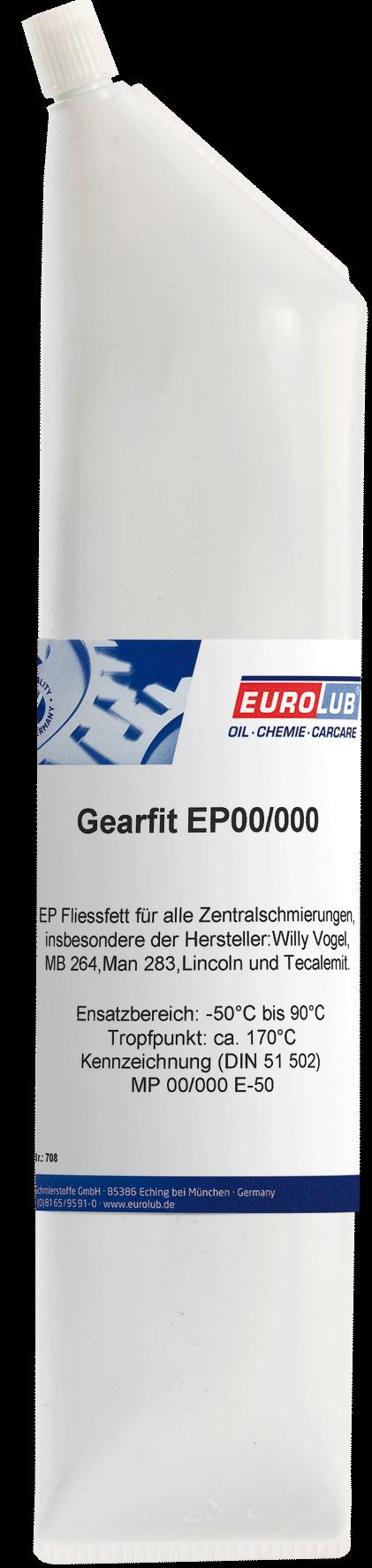 Eurolub Gearfit EP00/000 (смазка для централизованных систем), 0.9л