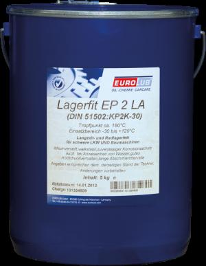 EUROLUB LAGERFIT EP 2 LA (литиевая смазка)