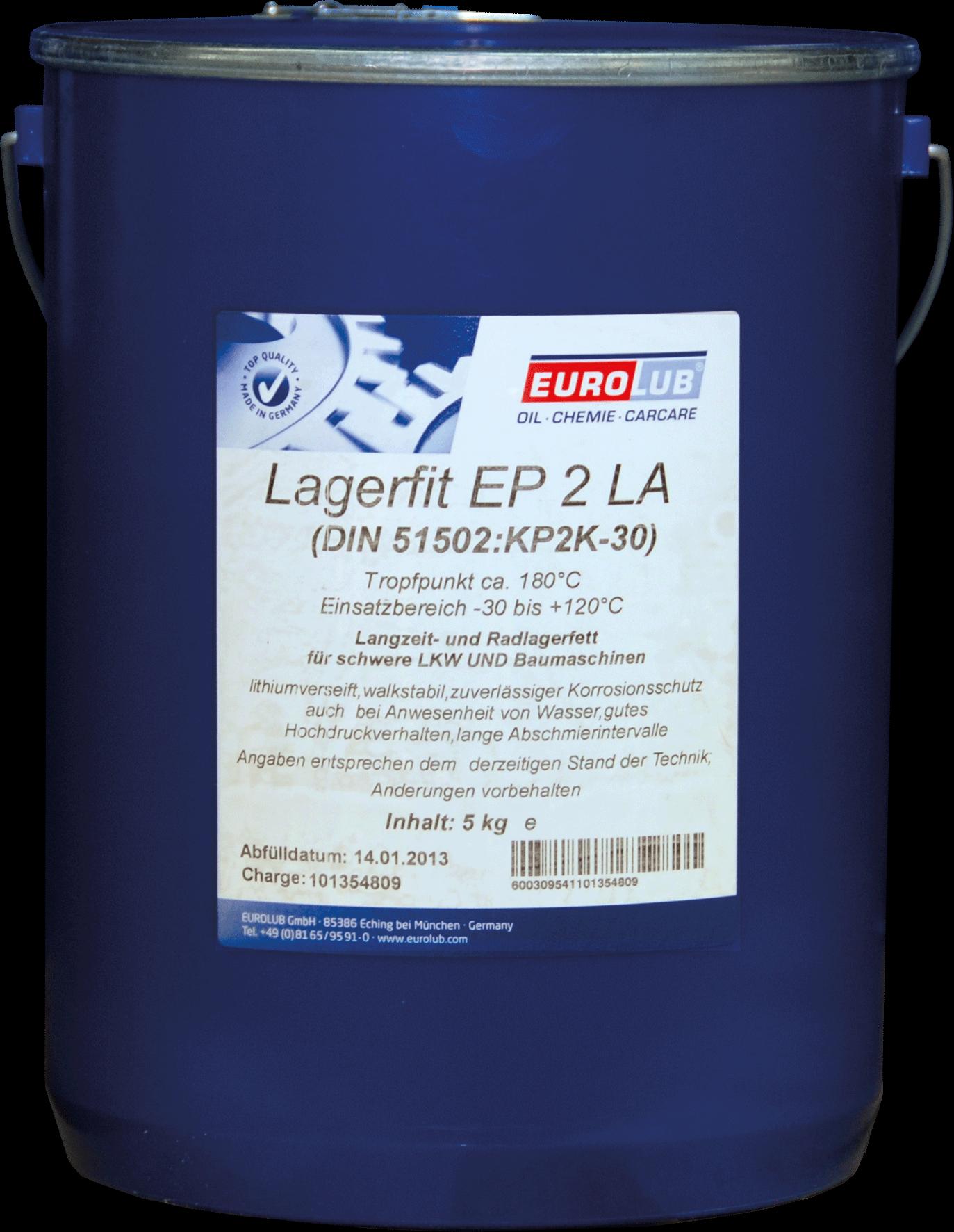 Смазка для авто EUROLUB LAGERFIT EP 2 LA (литиевая смазка)