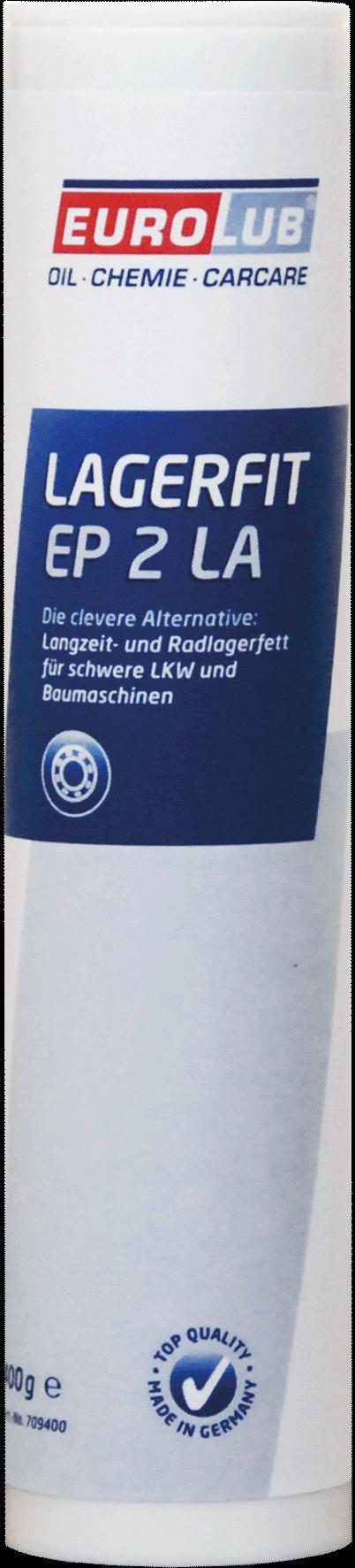 EUROLUB LAGERFIT EP 2 LA (литиевая смазка), 0.4л