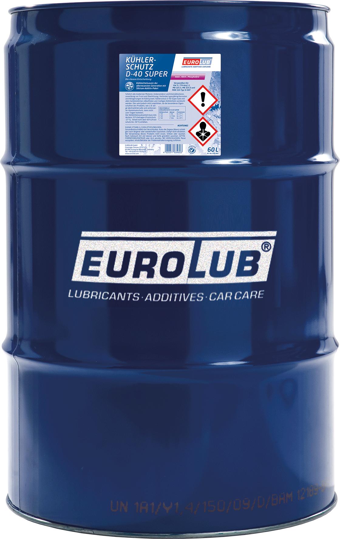 EUROLUB Kuhlerschutz  D-40 Super, 60л