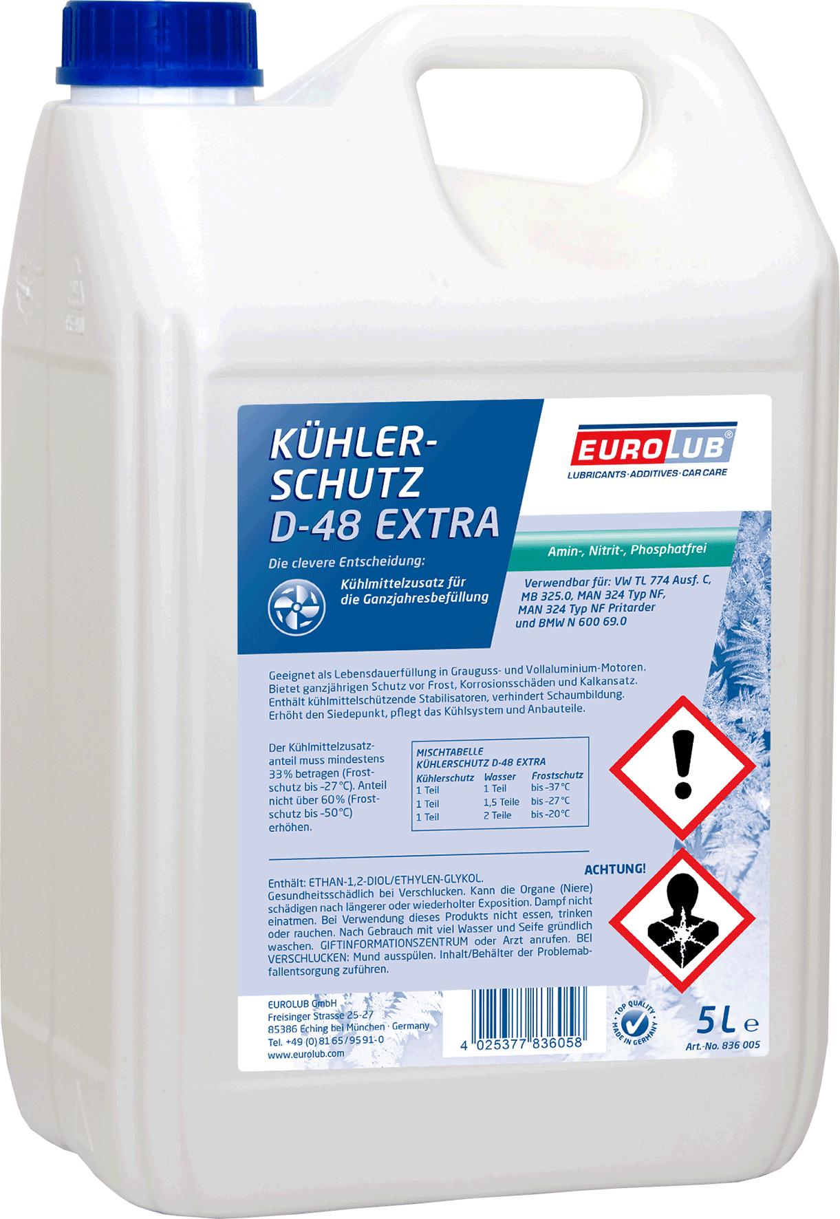 EUROLUB PROCAR Kuhlerschutz D48 Extra, 5л