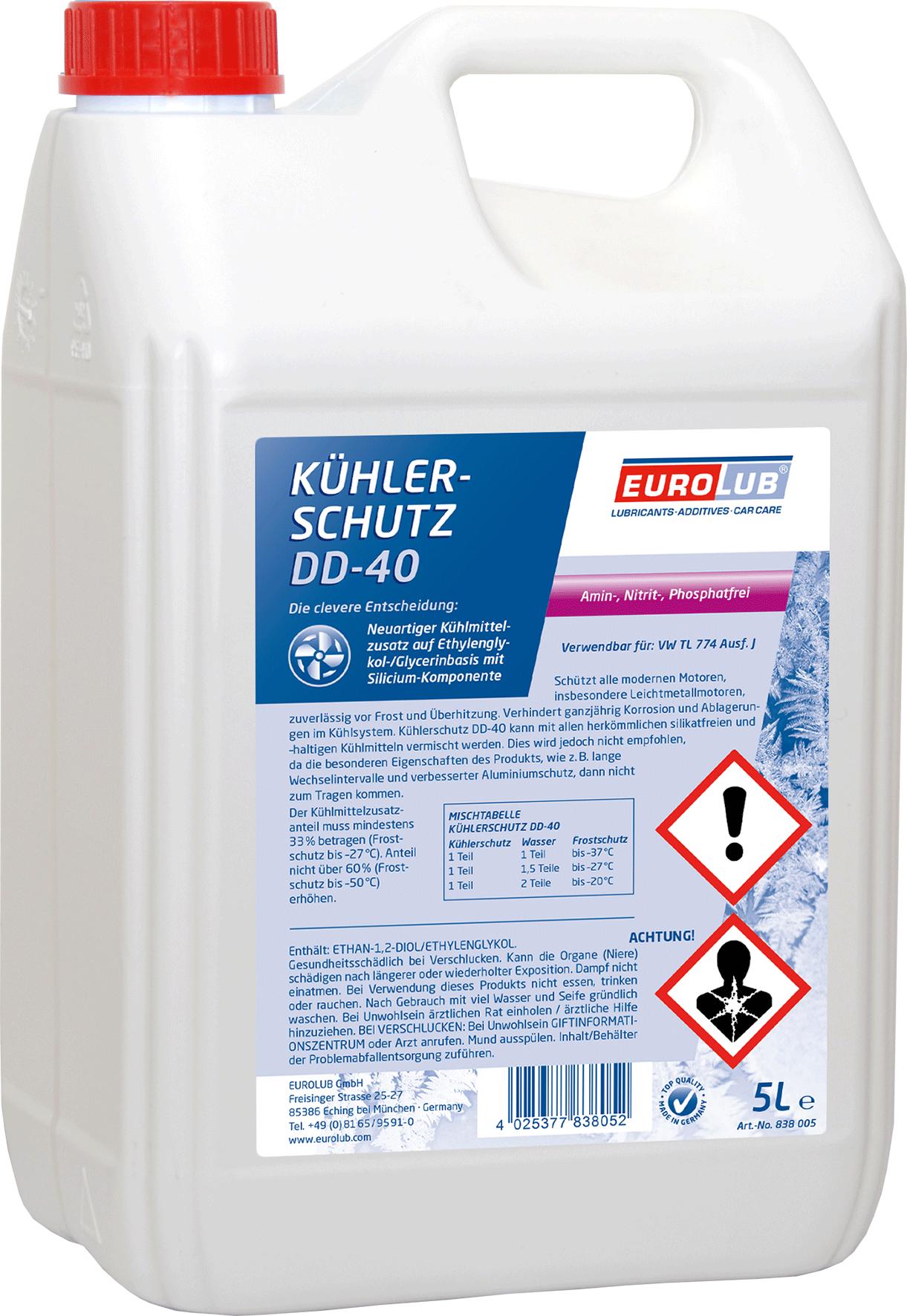 EUROLUB Kuhlerschutz  DD-40, 5л